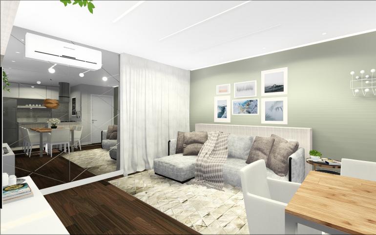 Apartamento em Conceito Aberto 2