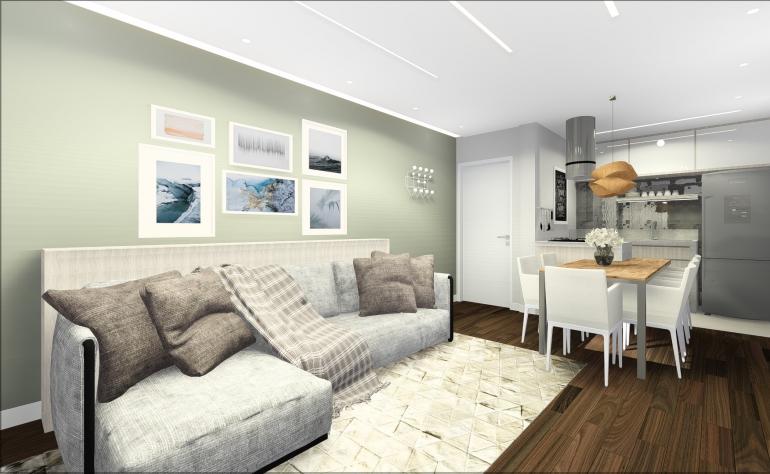 Apartamento em Conceito Aberto 1