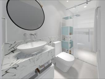 Banheiro Clean Feminino