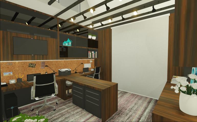 Home Office Contemporâneo 2