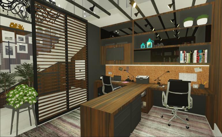 Home Office Contemporâneo 1