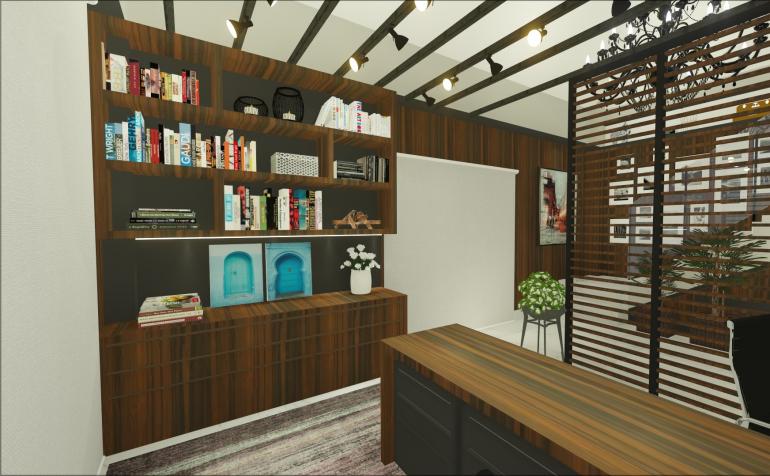 Home Office Contemporâneo 3