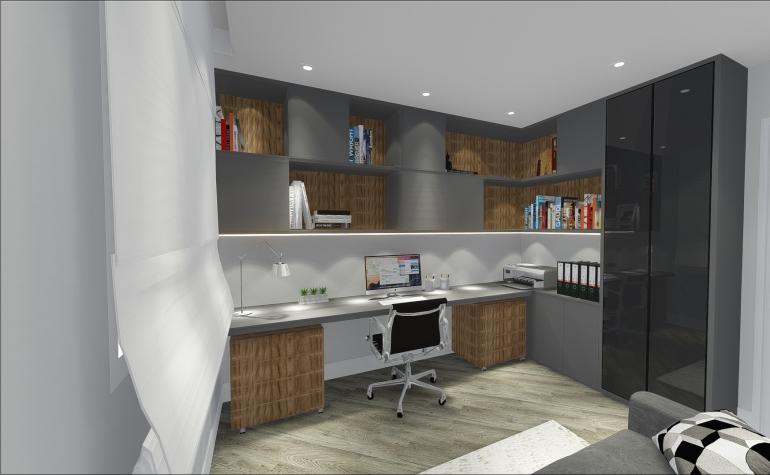 Home Office com Sofá Cama 1