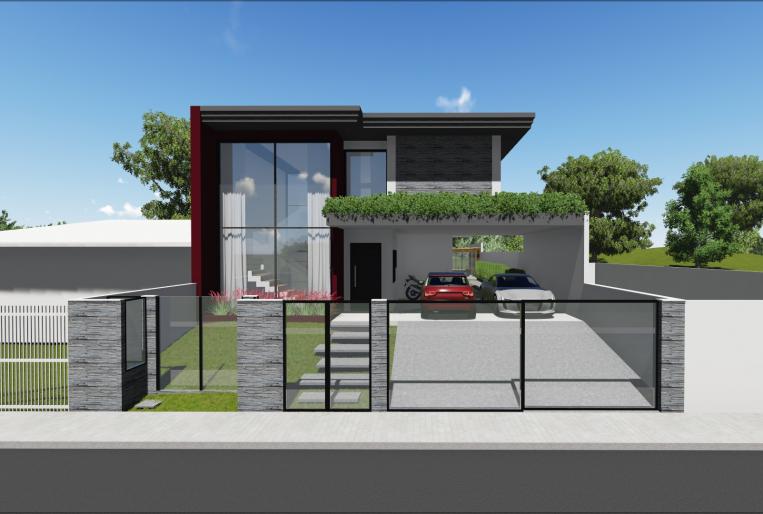 Projeto Residencial com Espaço Gourmet 1