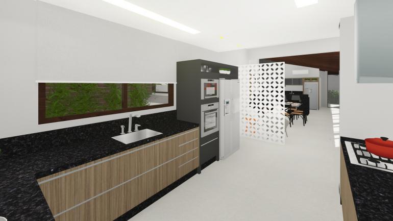 Projeto Residencial de Reforma de Espaço Gourmet 4