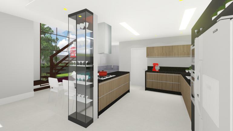 Projeto Residencial de Reforma de Espaço Gourmet 5