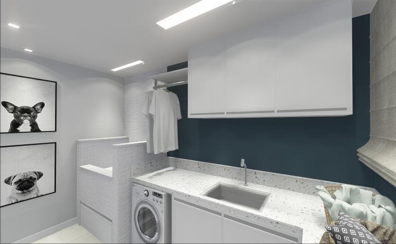 Lavanderia com Espaço de Banho Pet 3