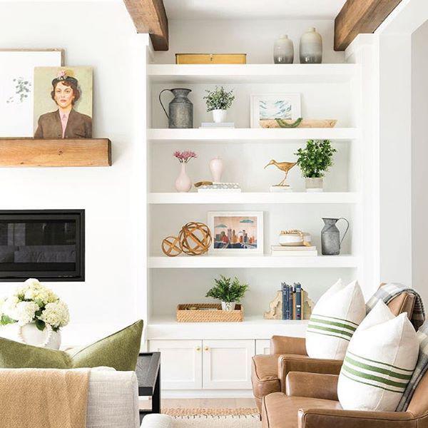 Como organizar e expor objetos de decoração